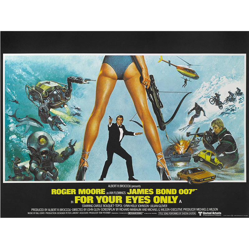 Roger Moore Tribute Weekend: For Your Eyes Only