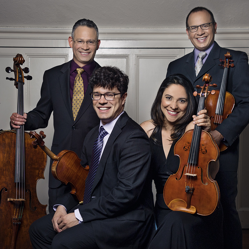The Dali Quartet with dance performances by Edgar Osorio and Valerie Levine