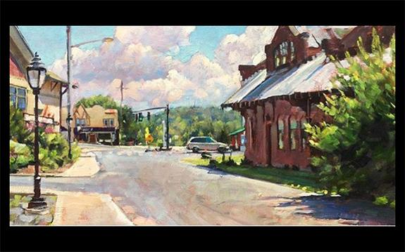 Art on Art Series: Studio visit with Jay Brooks