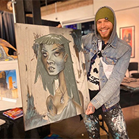 Art on Art Series: Muralist Josh Deitchman